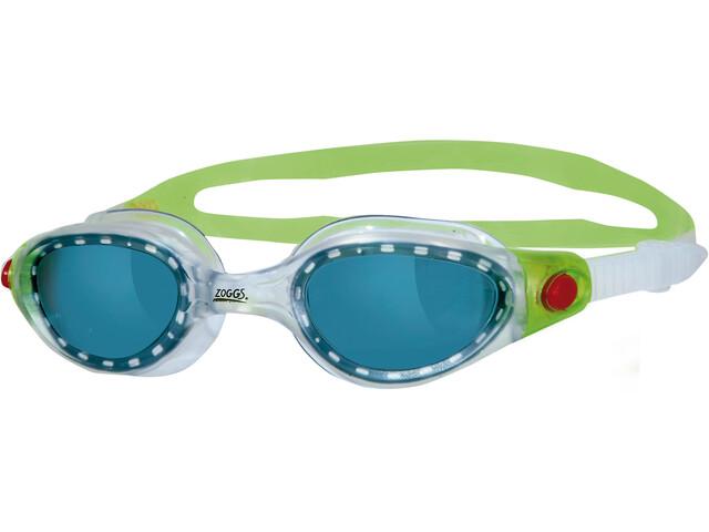 Zoggs Phantom Elite - Lunettes de natation Enfant - vert/transparent